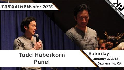 SacAnime Winter 2016 Todd Haberkorn Panel (Saturday)