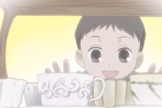 Tohru as a child