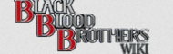 Black blood bros wordmark