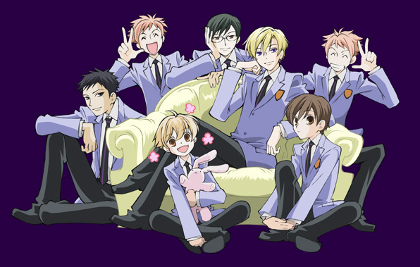 Ouran host club dating sim