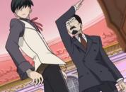 Yoshio slapping kyouya