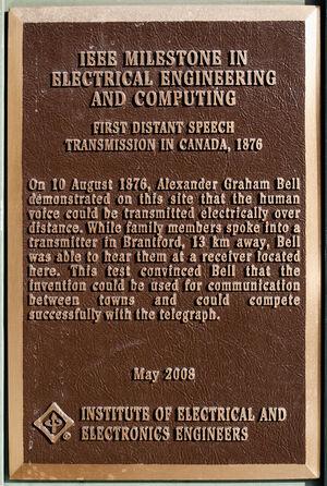 Bell plaque 2