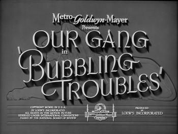 Bubblingtroubles