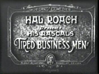 Tired Business Men 1927