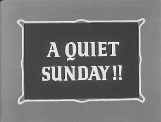 Sundaycalmtitle