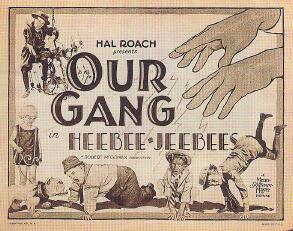 Heebee Jeebees lobby card