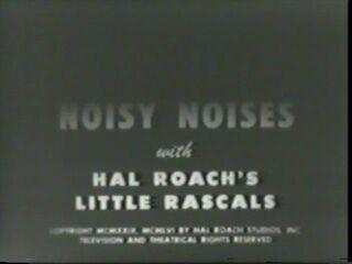 Noisy Noises 1929