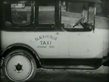 Black and Blue Taxi