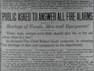 Fire Chief Robert Scott