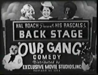 Back Stage 1923
