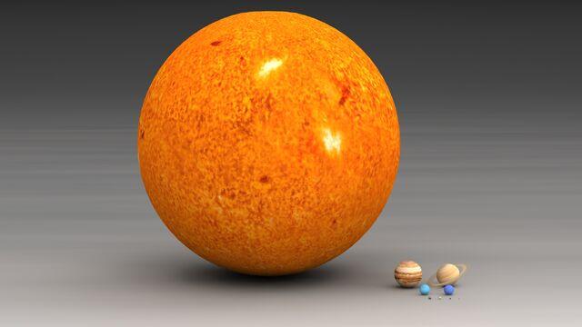 File:Planets and sun size comparison.jpg