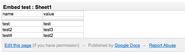 Mediawiki Google Spreadsheet