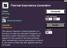 Thermal Resonance Generator