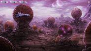 Nomad landed on a rocky planet (2)