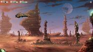 Nomad landed on a rocky planet (4)