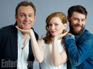 Philip Glenister Wrenn Schmidt and Patrick Fugit