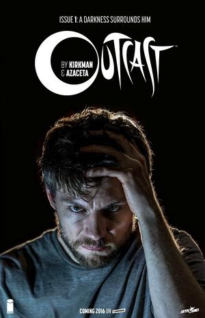Outcast Vol 1 1 variant - Patrick Fugit