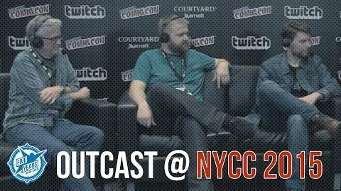 Outcast at NYCC 2015 - Panel ft. Patrick Fugit, Robert Kirkman & Chris Black
