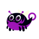 Glowbug purple