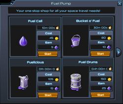 Fuel pump store