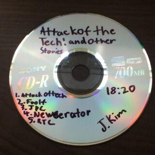 CD disc title card