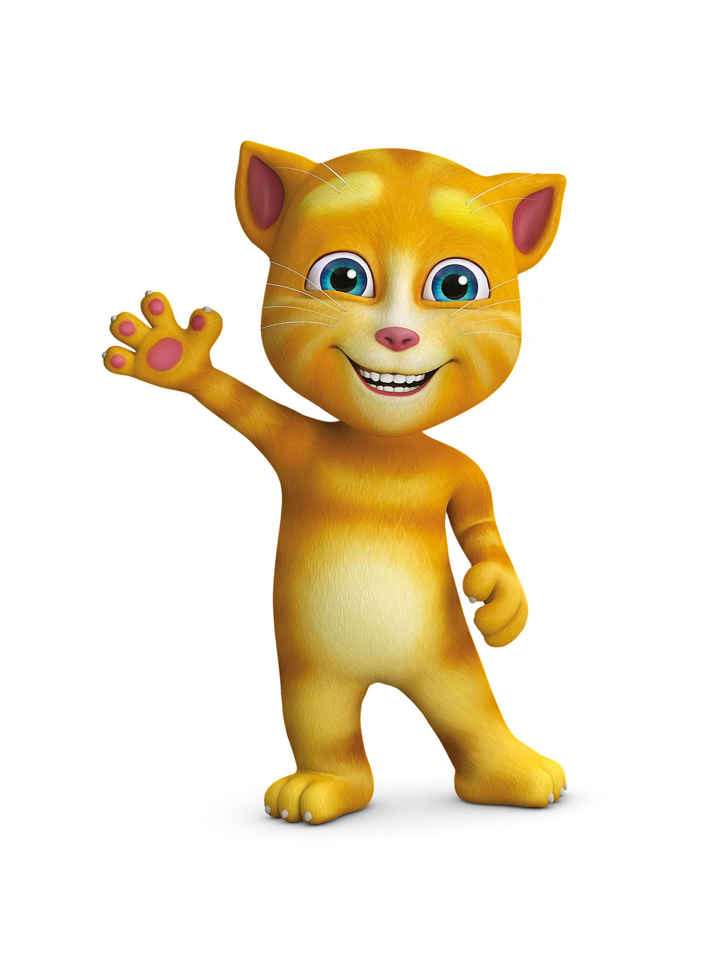 Ginger talking friends wiki fandom powered by wikia - My talking tom pictures ...