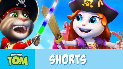 Talking Tom Shorts ep.22 - Power Pirates