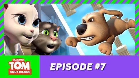 Talking Tom and Friends - Ben's High Score (Season 1 Episode 7)
