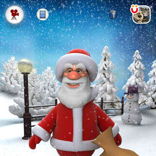 Santa in Talking Santa
