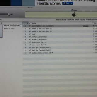 iTunes Playlist is Finished