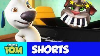Talking Tom Shorts 29 - Piano Battle