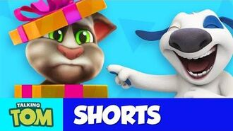 Talking Tom Shorts 35 - Unboxing Gifts