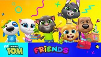 📣 NEW GAME- My Talking Tom Friends! 📣 Pre-Register Now to Play it FIRST