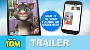 Talking Tom for Messenger - App Trailer