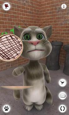 Tom throws pie