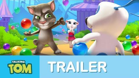 Talking Tom's Bubble Shooter - Teaser Trailer