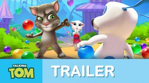 Talking Tom's Bubble Shooter - Teaser Trailer