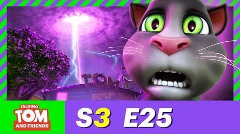 Retro-Sonic Angela - Talking Tom and Friends - Season 3 Episode 25