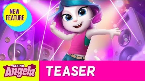 💃 DANCE WITH ME!💃 My Talking Angela (BIGGEST Game Update ever)