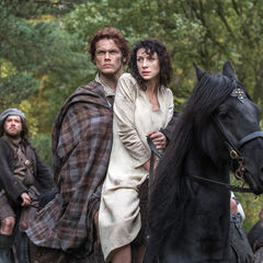 More Claire & Jamie Moments