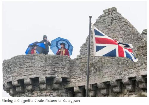 Craigmillar Castle Grabación 2