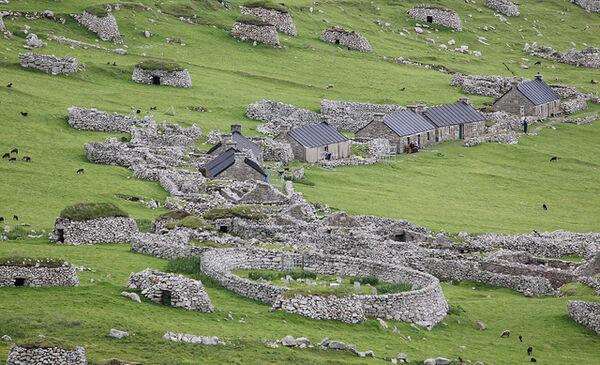 Cementerio y pueblo St Kilda