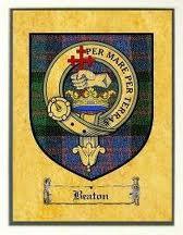 Clan beaton-tartan