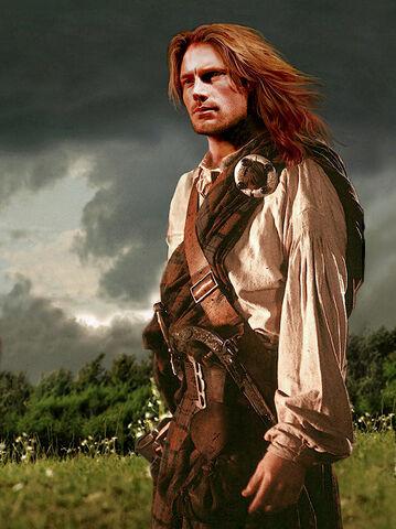 File:Jamie Fraser Outlander fan art.jpeg