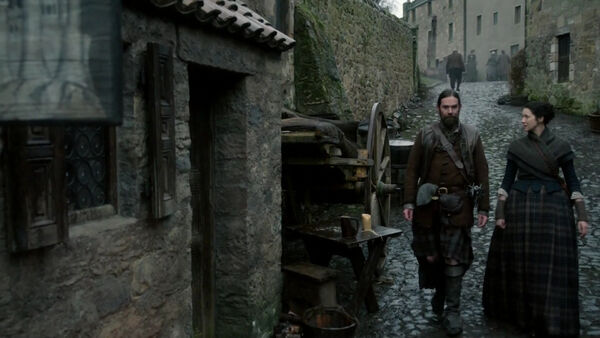 Claire y Murtagh calle