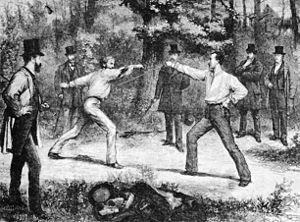 Duelo en el Bois de Boulogne