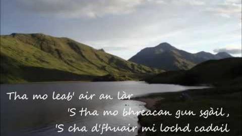 Tha Mo Leabaidh 'san Fhraoch