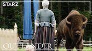 Outlander BTS The Buffalo Attack Season 5