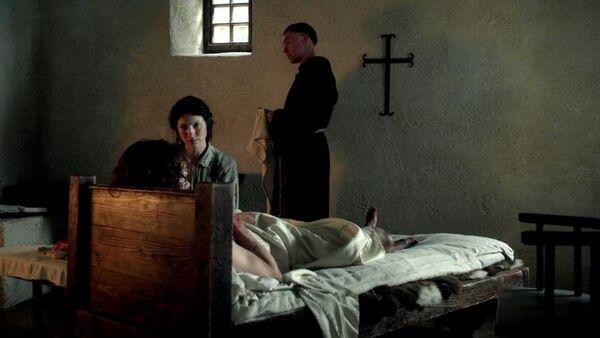 Claire, Jamie y el monje