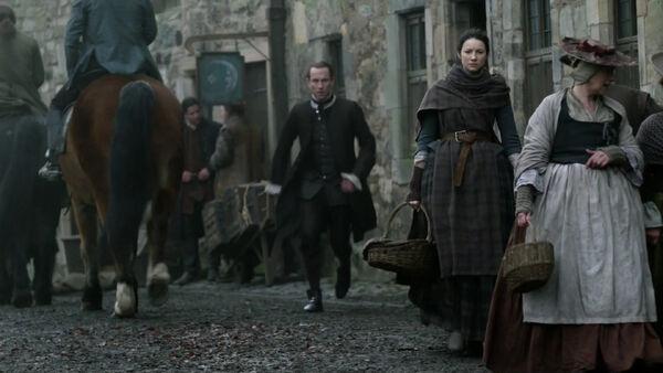 Claire visita a Alex